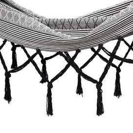 Hamaca sotavento doble de 125cmx205cm en algodón