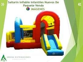 Saltarín Inflable Infantiles Nuevos De Paquete Incluye 6/1