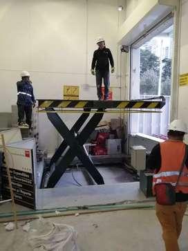 Venta de plataforma elevadora carga de 3 a 5 toneladas.