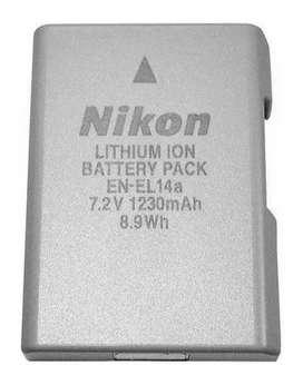 Batería Cámara Nikon En-el14a D5600 D3300 D5500 D3400 D5300