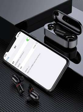 Audifono Twins Turbo BASS Inalambrico Bluetooth Par ORIGINAL JK Super Batería El mejor en Autonomia - 8888