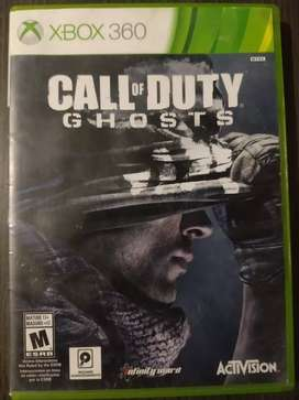 Call of duty Ghost juego Xbox 360