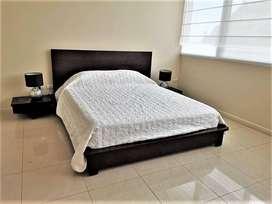 alquiler suite amoblada riverfront 1 puerto santa ana, guayaquil