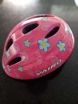 """Casco Infantil Vairo """"Ajustable"""" Kids Flores Rosa XS Bicicleta - Monopatín - Rollers"""