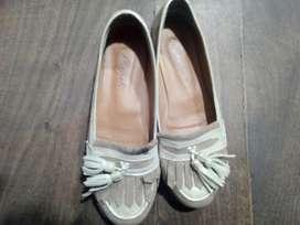Zapatos Cuero Y Gamuza