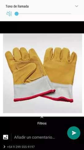 vendo guantes de cuero