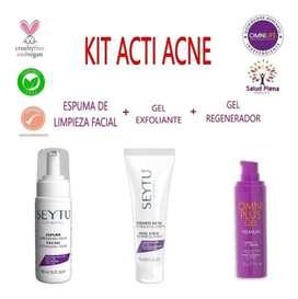 Kit anti acné.