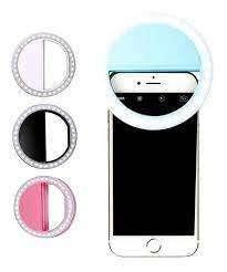 Aro De Luz Para Celular Foto Selfie Recargable Cable Usb+obs