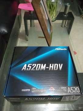 Board AsRock A520M-HDV
