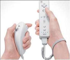 Control Remote Nintendo Wii con Nunchuk Protector Correa y cordon
