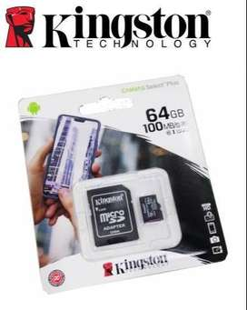 MEMORIA MICRO SD 64GB KINGSTON