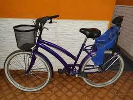 Bicicleta rodado 26 reforzada