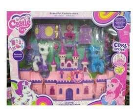 Castillo Princesas Niñas My Little Pony