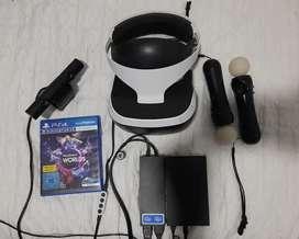 Se vende kit de gafas de realidad virtual PS4