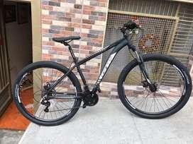 Bicicleta gw zebra totalmente nueva