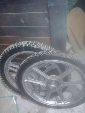 Vendo dos ruedas