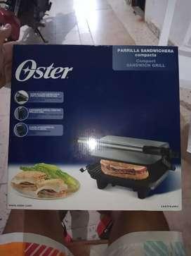 Promoción Vendo Parrilla Sandwichera Compacta