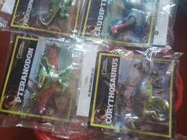 Vendo dinosaurios de nacional geográf 500 cada uno tengo 5