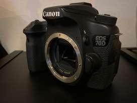 Canon 70d - solo body