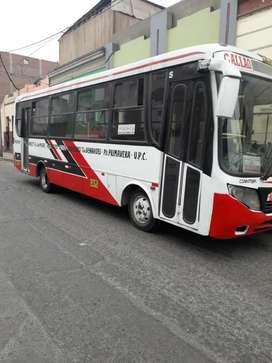 Marca Mitsubishi fuso/ Motor Diesel ok /Carrocería de 33 pasajeros con ruta vigente/ Precio Negociable