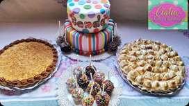 Tartas, tortas y todo para tu evento