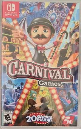 Nuevo Carnival Games Nintendo Switch