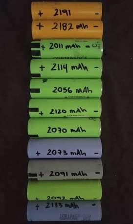 Batería Recargable 18650 Original De 2000-2100 Mah Reales