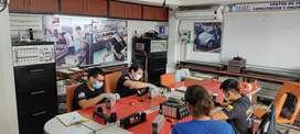 Diagnostico, mantenimiento y reparación de batería de vehículo hibrido