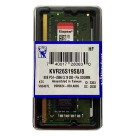 MEMORIA RAM DDR4 8GB PORTATIL BUSS 2666 KINGSTON