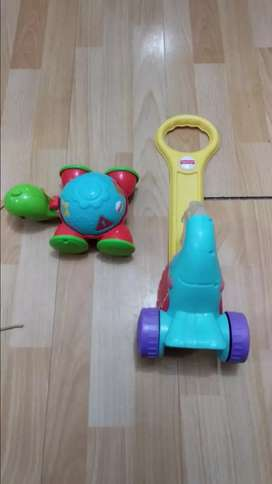 Vendo juguetes Fisher price varios baratos