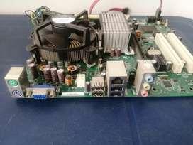 Board DDR2 Con 2GB RAM procesador Dual Core