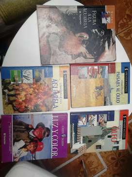Vendo libros de arte y pintura