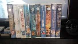 Lote 10 Peliculas Disney Originales.vhs