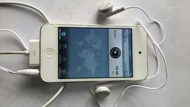 iPod Touch 16gb Blanco 4 G Cargador Y Ma