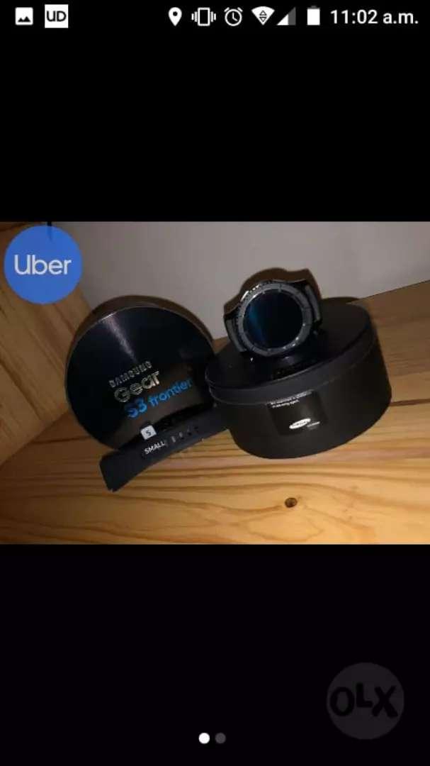 Samsung gear s3 economico 10/10 negociable 0