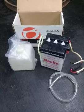 Bateria para moto 6N4-2A