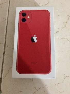 Nuevo sellado iphone 11 red 64gb