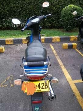 Vendo moto Honda wave