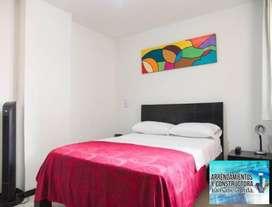 Apartamento Amoblado laureles Código 847465