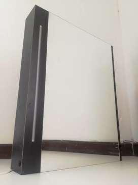 Espejo de tocador o baño con luz