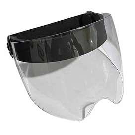 Protector Facial Policarbonato Curva Interna Mentón | 15 cm