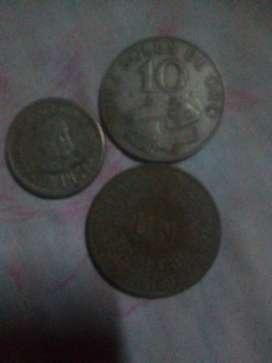 Monedas antiguas del Perú