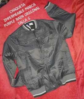 Rebajada chaqueta de hombre marca purple rain