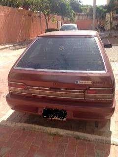 Mazda 323 Coupe Rojo 1992