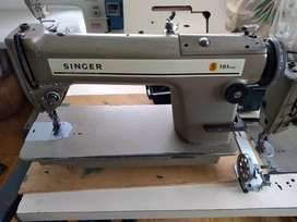 Máquina plana singer 191D300A usada