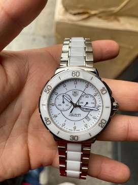 Reloj tag heuer formula 1 diamantes Ceramica Original como Nuevo papeles