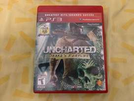 Uncharted Drake's fortune ps3 greatest hits