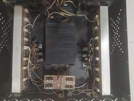 Planta amplificadora 16 transistores