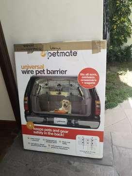 Vendo reja de camioneta para mascotas