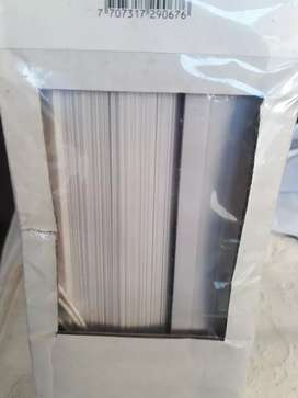 Persiana blanca en PVC